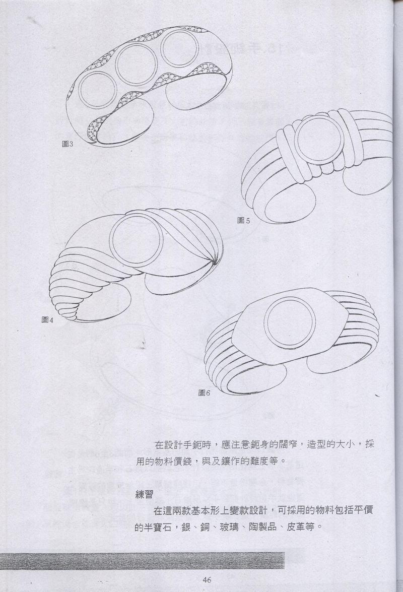[转载]《手绘基础教程》想学习珠宝手绘的多练练
