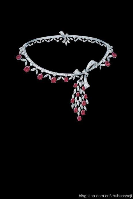 梵克雅宝高级珠宝手绘设计图!