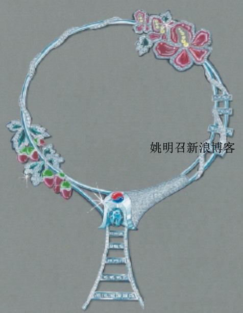 珠宝手绘图欣赏4_姚明召的珠宝设计师艺廊