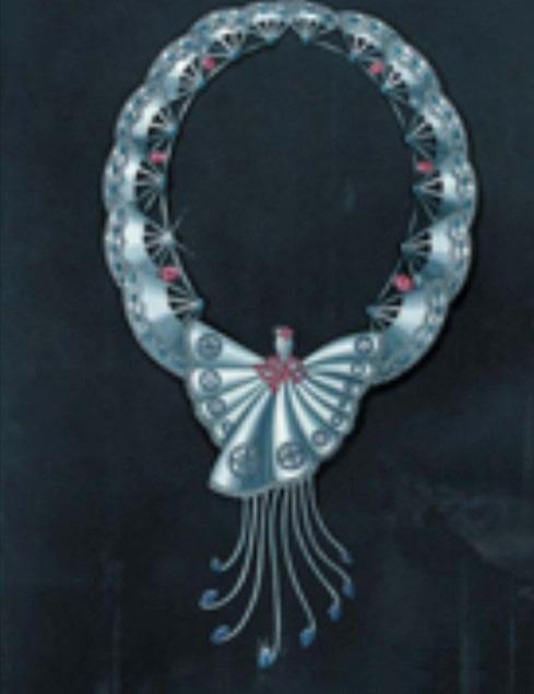 珠宝手绘图欣赏9_姚明召的珠宝设计师艺廊