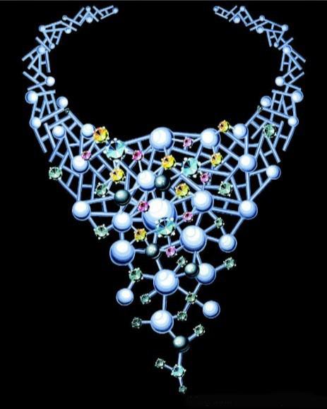 珠宝手绘图欣赏10_姚明召的珠宝设计师艺廊