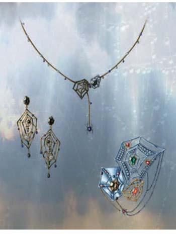 首饰手绘图; 珠宝首饰简单手绘图珠宝首饰手绘图简单建筑钢笔手绘图;