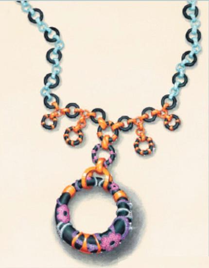 珠宝手绘图欣赏13_姚明召的珠宝设计师艺廊