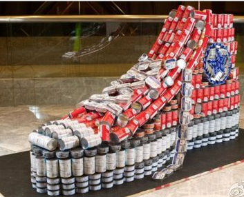 (查看全文) 易拉罐做的鞋子 2011-12-10 9:20:32浏览