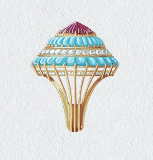 梵克雅宝最新手绘图--edit by chengong