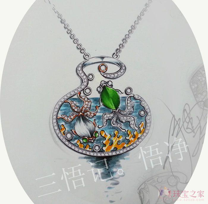 鱼缸艺术_悟净的珠宝设计师艺廊