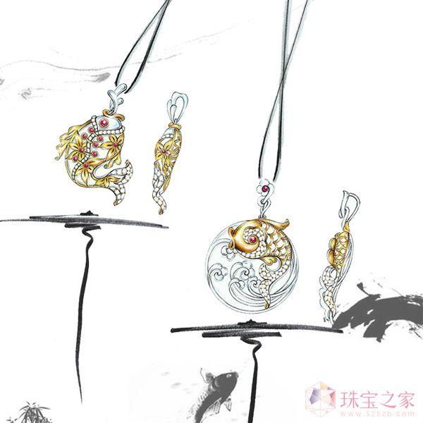 吕良珠宝设计师艺廊:隆中对