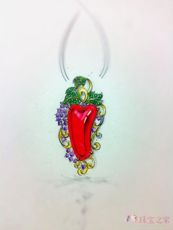 珊瑚珠宝设计_黎小媚的珠宝设计师艺廊