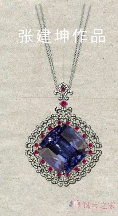 珠宝首饰的创意海报